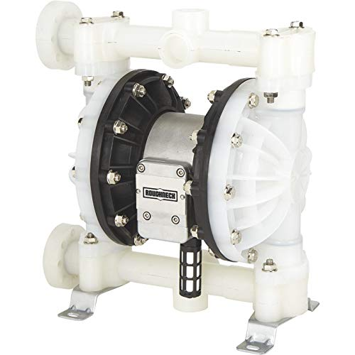 Roughneck Air-Operated Double Diaphragm Pump - 1in. Ports, 24 GPM, Polypropylene (Roughneck Air Operated Double Diaphragm Oil Pump)