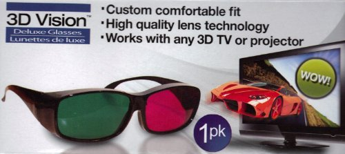 3 D Vision  Deluxe Glasses