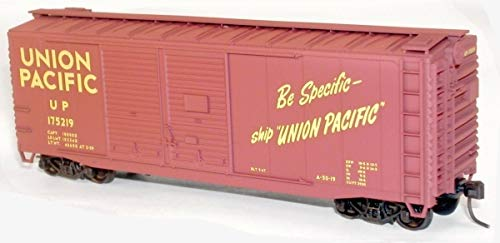 - 40' AAR Double-Door Boxcar - Kit (Plastic) -- Union Pacific