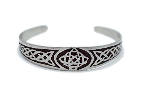 Irish Celtic Cuff Bracelet - 2
