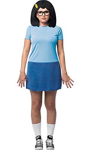 HalloCostume Adult Tina Costume - Bob's (Bobs Burgers Tina Costume)