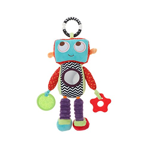 Lukalook Robot Style Baby Plush Musical Rattle Toys Handing Toys For Educational Toys ()