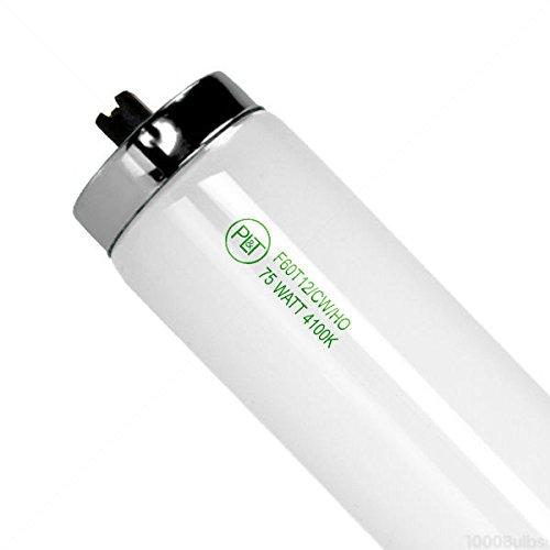 15 Pk F60T12/CW/HO - 75W 4100K T12 Bulbs High Output - PLT 90163