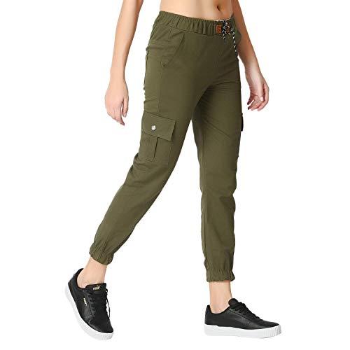 New Deal Salez Counte Women's/Ladies/Girls Regular Fit Cargos Jeans Jogger(Multi)