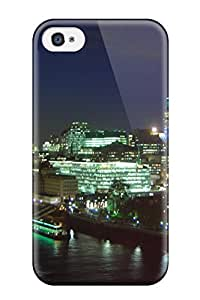 Premium Tpu City Of London Cover Skin For Iphone 4/4s