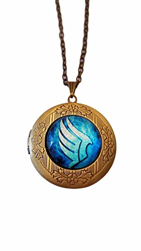 Paragon Mens Watch - Mass Effect N7 Paragon Glass Domed Pendant Locket Necklace