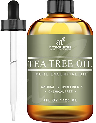 Art Naturals Tea Tree Essential Oil Pure & Natural 4 Oz Premium Melaleuca Therapeutic Grade From Australia, Use With Soap & Shampoo, Face & Body Wash, Treatment for Acne, Lice & Many Skin Conditions (Oxy Clean Natural compare prices)