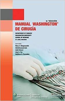 Manual Washington De Cirugía por Klingensmith epub