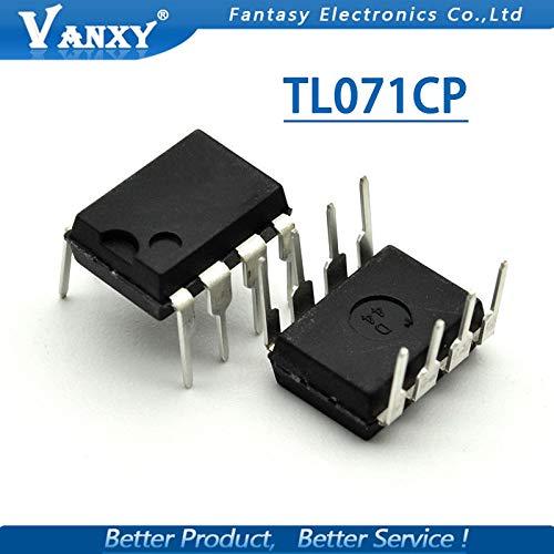 10PCS TL071CP DIP8 TL071 DIP-8 071CP DIP TL071C Operational Amplifier New Original