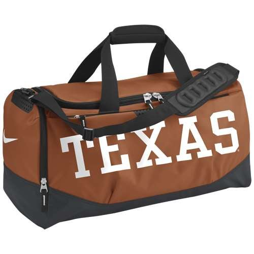 Nike Texas Longhorns Team Training Medium Duffle Bag …