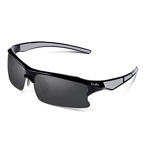 Ewin E20 Polarized UV400 Protection Sports Sunglasses for Men Women Golf Baseball Fishing
