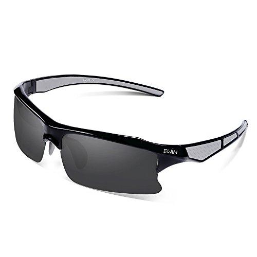 Ewin E20 Polarized UV400 Protection Sports Sunglasses for Men Women Golf Baseball - For Best Water Sunglasses