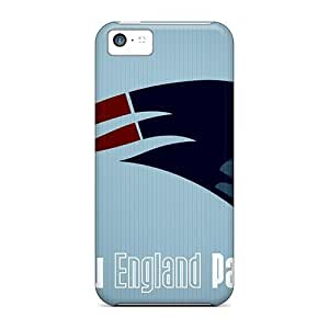Iphone 5c Case, Premium Protective Case With Awesome Look - New England Patriots Logo