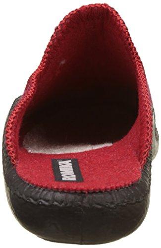 Romika Damen Mokasso 62 Pantoffeln Rot (Rot-Kombi 401 401)