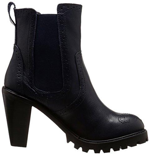 Kelsi Dagger Brooklyn Donna Boyband Chelsea Boot Mid Navy Blu Scuro