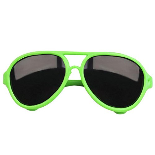 Funny Toy for Kids Baomabao Stylish Plastic Frame Glasses Sunglasses For 18 inch American Girl Doll - Sunglasses Alligator