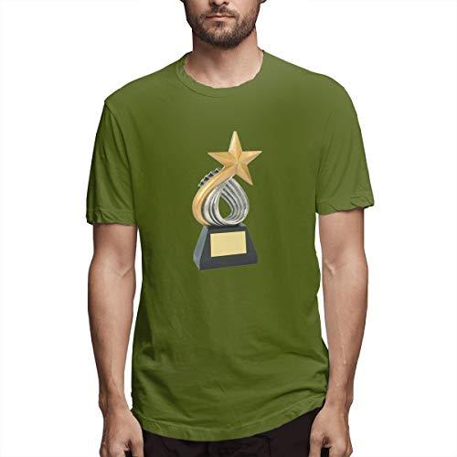 Fipiall Adult Men's Gridiron Football Raglan Baseball Tee T-Shirts Short Sleeve Athletic Tees Tops Moss Green