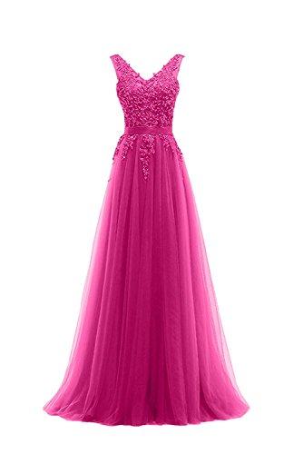 Langes Rot Braut Damen Marie Rock La Abendkleider Prinzess Spitze Ballkleider A Brautmutterkleider Pink Linie HqIEBBxZ