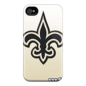 High Quality Gegory New Orleans Saints Skin Case Cover Specially Designed For Iphone - 4/4s