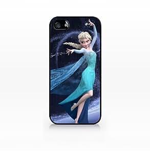 Elsa, Frozen Disney, Snow Queen-iphone 4 case, iphone 4s case, Hard Plasic, Black case SCC-IP4-052 BLACK