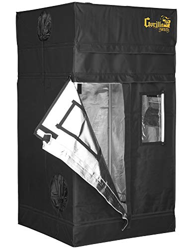 Cheap Gorilla Grow Tent GGTSH33 Tent, Black
