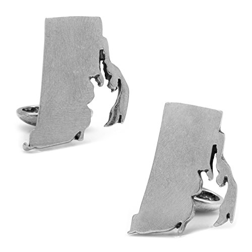 UPC 848873050889, CUFFLINKS INC Pewter Rhode Island Cufflinks (Silver)