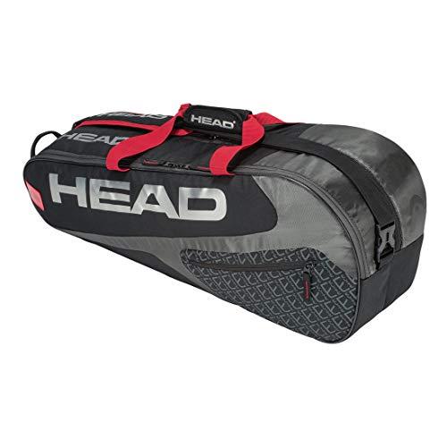 HEAD Elite 6R Combi Tennis Racquet Bag – 6 Racket Tennis Equipment Duffle Bag
