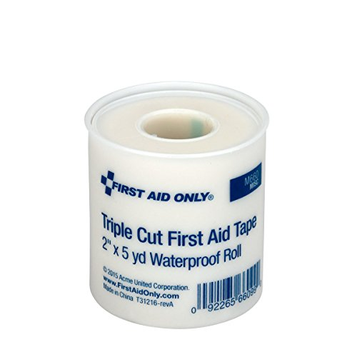 Pac-Kit by First Aid Only FAE-9089 SmartCompliance Refill 2'' Triple Cut Adhesive First Aid Tape Roll by First Aid Only (Image #2)