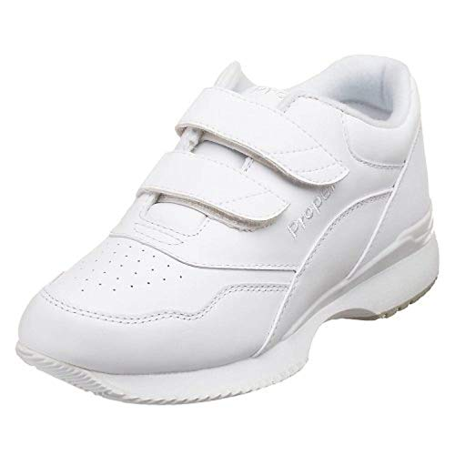 (Propet Women's Tour Walker Strap Shoe White 8 X (2E))