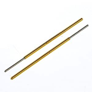 50 pcs PL75-Q1 Test Probe metal Golden yellow detector Instrument to detect the needle Pogo Pin