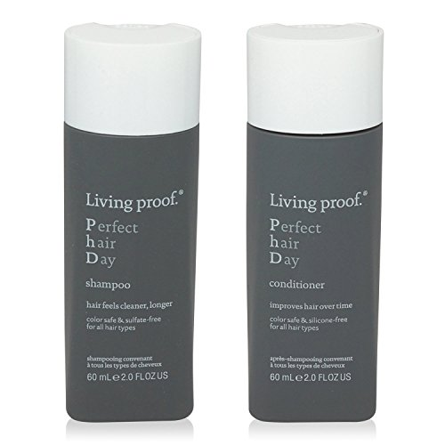 Living Proof Perfect Hair Day Shampoo and Conditioner Travel Size Combo ()