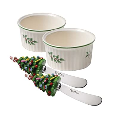 Spode Christmas Tree Dipping Set
