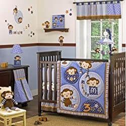 Cocalo Baby 8 Piece Crib Set - Monkey Mania