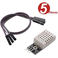 WINGONEER 5Pcs DHT22/AM2302 Digital Temperature And Humidity Sensor Module Replace SHT11 SHT15