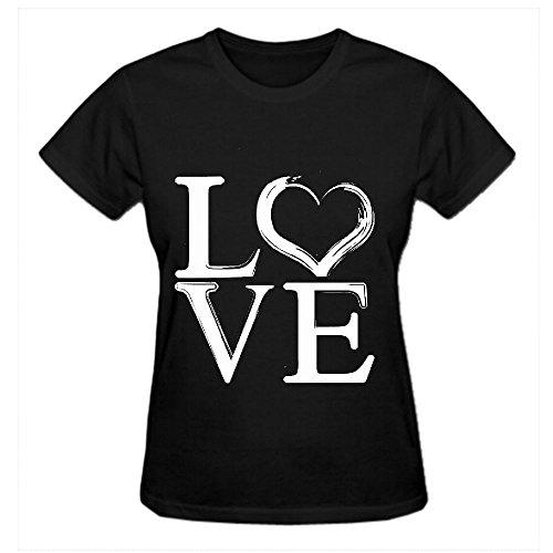 Love Ils T Shirt Design Women Crew Neck -