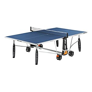 8. Cornilleau 250S Crossover Indoor/Outdoor Blue Table Tennis Table