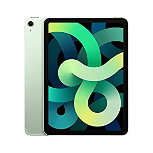 2020 Apple iPadAir (10.9-inch, Wi-Fi + Cellular, 256GB) – Green (4th Generation)