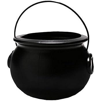 Akro-Mils Cauldron Pot, 8.25-Inch, Black