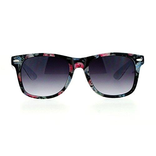 Square horn rim glasses