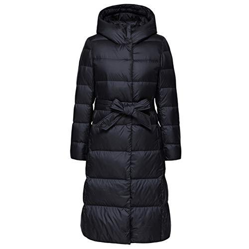 Cappuccio Da Black Cappotto Donna Piumino Caldo Con Kitrack Lungo Antivento Inverno Downtown ZpaAYwZqPW
