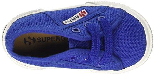 Superga 2750 Bebj Baby Classic - Zapatillas de deporte de tela para niños Azul - Intense Blue