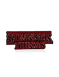 Enamel Pin Cute Funny Lapel Pins for Backpacks Clothes Jackets Hats,Cartoon TV English Letter Stranger Things Badge Clothes Brooch Pin Jewelry Decor - 2#