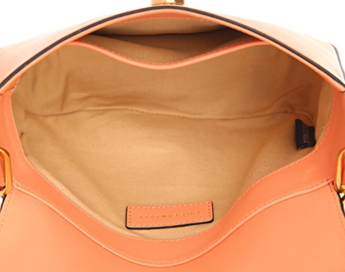 Coccinelle Clessidra crossbody bag calf leither grapefruit ItpKK6Nd