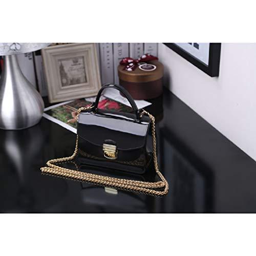 Mini Ww À La lady Bandoulière Diagonale Black Mode Sac Bags sac De Paquet Main Pour rqrwR7xY