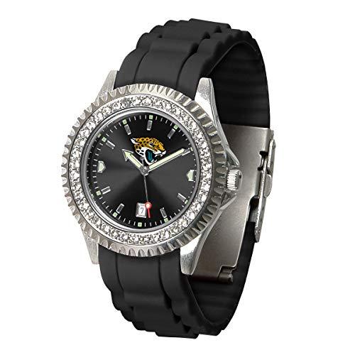 Game Time NFL Jacksonville Jaguars Womens SparkleWrist Watch, Team Color, One Size ()