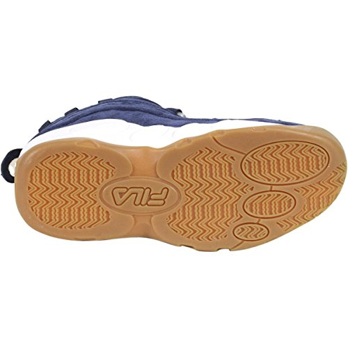 Fila Menns Bobler Basketball Sneaker Navy / Tyggis