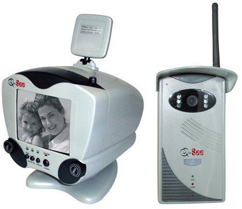 Q-See 2.4GHz Wireless Video Doorphone System (B/w Video Doorbell)