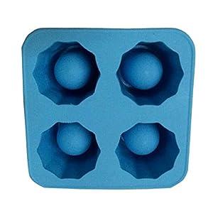 RuiChy - Vaschetta per il ghiaccio con formine per gelato fai da te style-7 1 spesavip