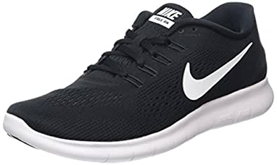 Image Unavailable. Image not available for. Color: NIKE Men's Free RN  Running Shoe Black/Anthracite/White ...