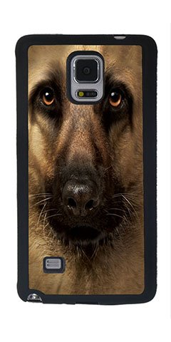 Samsung Note 4 Case, Generic Pastor Alemán Face carcasa ...